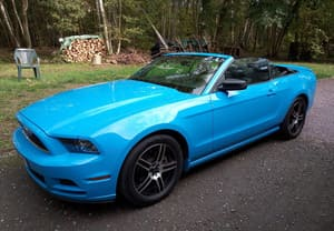 image Mustang cabriolet
